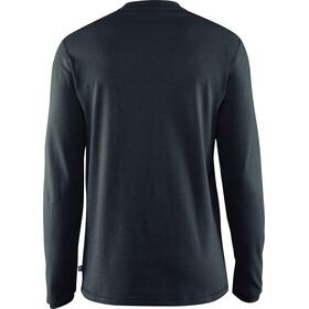 Fjällräven Greenland Buttoned LS Shirt Herren dark navy